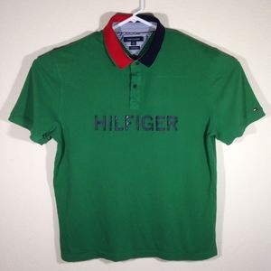 Tommy Hilfiger Spell out Polo Shirt
